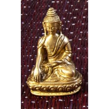 Akshobhya Buddha, 7.5 cm , Messing