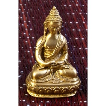 Amitabha Buddha, 7,5 cm , Messing