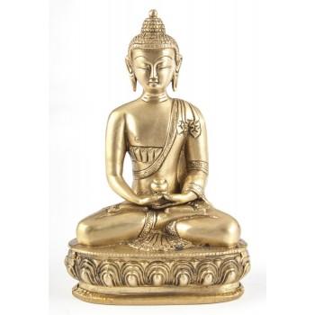 Amithaba, 20 cm , Messing