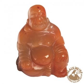 Buddha Carneol (gebr.) , 4cm