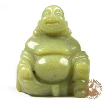 Buddha Serpentin (China Jade) , 4cm