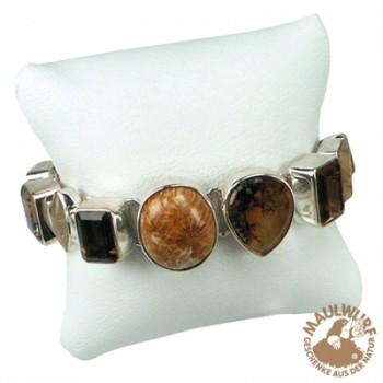 Einsatz für Schmuckschachtel Größe 9,5cm x 9,5cm (Kissen) , für Armband, VE mit 12 Stück