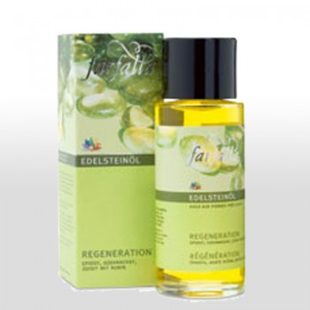 Regeneration Edelstein-Massageöl 80ml farfalla
