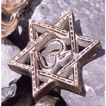 Hexagramm, Mangoholz