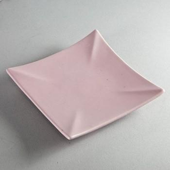 Kerzenuntersetzer quadratisch lavendel (VPE: 6 Stück)