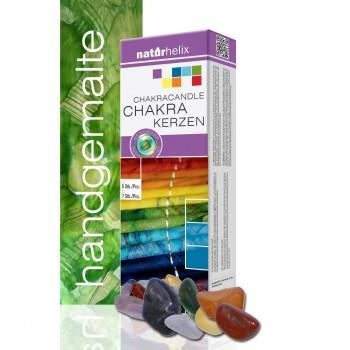 Mineral-Chakrakerzen