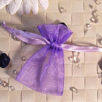 Organza-Beutel mini lila 50 Stück