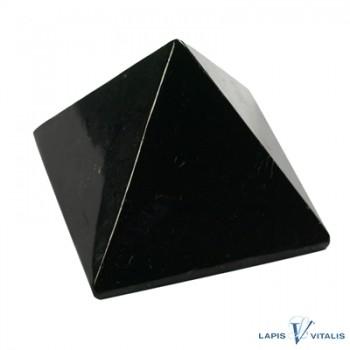 Pyramide Schungit in Geschenkschachtel, 4cm