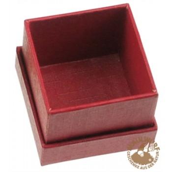 Schmuckschachtel Größe 1, 2,5x2,5cm , rot, VE mit 48 Stück