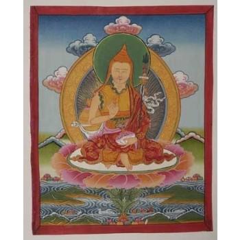 Thangka Padmasambhava, im Wechselrahmen, ca. 35 x 28 cm