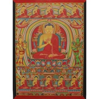 Thangka Vairochana Kadampa, ca. 87 x 64 cm