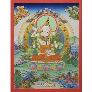 Thangka Vajrasattva Consort, ca. 66 x 51 cm