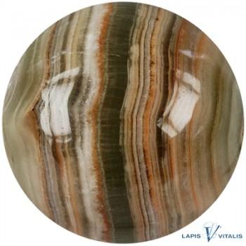 JOYA Massagestiftkugel Calcit-Aragonit (Onyx-Marmor)