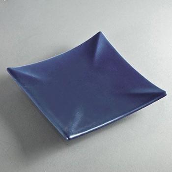 Kerzenuntersetzer quadratisch dunkelblau (VPE: 6 Stück)