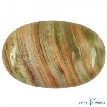 Linsenstein Calcit-Aragonit (Handelsname: Onyx-Marmor)