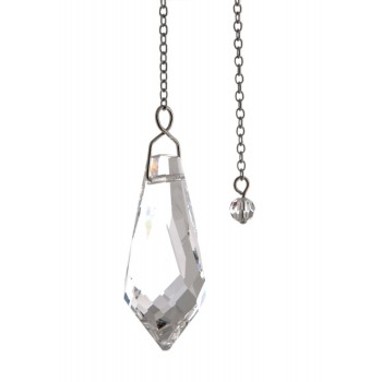 Kristallpendel Eiszapfen 37 x 15 mm