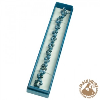 Schmuckschachtel Größe 7, 4x22cm , blau, VE mit 24 Stück