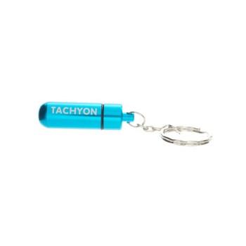 Tachyon Life Capsule™ Schlüsselanhänger aqua