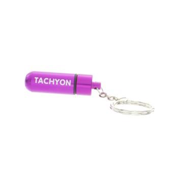 Tachyon Life Capsule™ Schlüsselanhänger purple