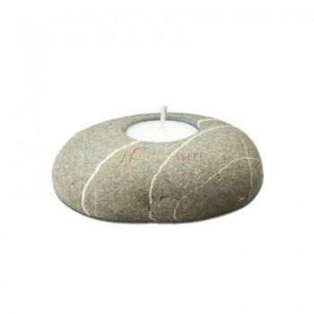 Teelichthalter aus Stein