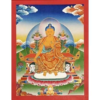 Thangka Maitreya 33 x 25,5 cm