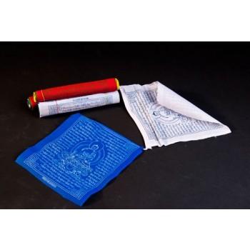 Tibetische Gebetsfahnen, Baumwolle Medizin Buddha(VPE: 5 Stück)