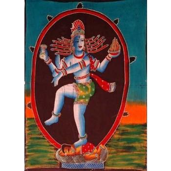 Wandbehang Shiva tanzend